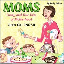 MOMS 2008 BOX DESK CALENDAR * FUNNY TRUE TALES * NEW - $9.96