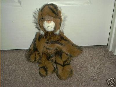"TY CLASSIC PLUSH ~TIGER~ EXC COND! 1997 12"" LONG RARE!"