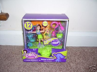 Polly Pocket DANCE 'N GROOVE HULA-LICIOUS KERSTIE Playset NEW!