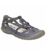 NEW JBU Women's Ladies' Sydney Sandal, Memory Foam Footed DENIM BLUE pic... - $383,42 MXN