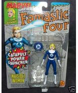 Fantastic Four INVISIBLE WOMAN Action Figure w/CATAPULT - $11.96