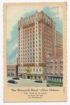 1937 - The Roosevelt Hotel - New Orleans LA - Used - $4.99