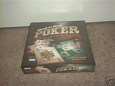 Head To Head POKER Duel Game NEW! 6 Games In 1! SEALED
