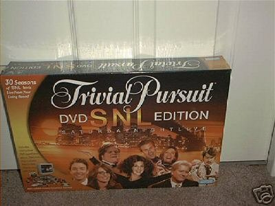 TRIVIAL PURSUIT SATURDAY NIGHT LIVE DVD BOARD GAME NEW!