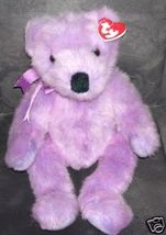 TY Classic LILACBEARY Bear Plush from 1999 - $11.99