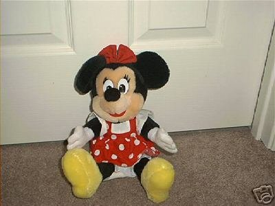 DISNEY THEME PARK ~MINNIE MOUSE~ PLUSH EXC! 9""