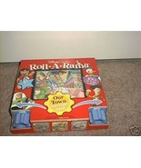 DISNEY LEARNING ROLL-A-RAMA OUR TOWN SCAVENGER HUNT NEW - $16.96