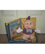DISNEY STORY TELLERS THREE LITTLE PIGS PLUSH w/BOOK NEW - $19.96