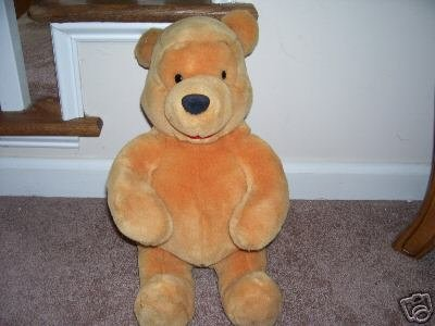 "Primary image for Disney WINNIE THE POOH Large Plush 17"" Tall"