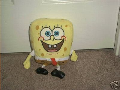 SPONGEBOB SQUAREPANTS PLUSH DOLL ~EXC COND!~ 2002 10""
