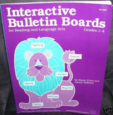 Primary image for INTERACTIVE BULLETIN BOARDS Grades 1-4 Book Reading LA