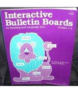 INTERACTIVE BULLETIN BOARDS Grades 1-4 Book Reading LA - $6.99
