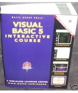 VISUAL BASIC 5 INTERACTIVE COURSE Book NEW! Softcover - with NEW CD - $34.96