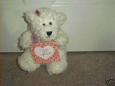 COMMONWEALTH ~YOU'RE SO SPECIAL~ WHITE PLUSH BEAR EXC!