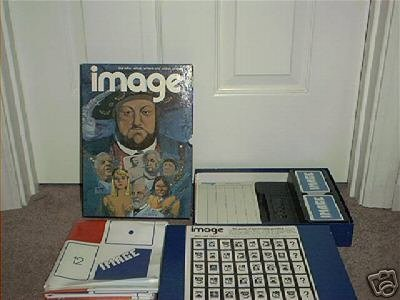 Primary image for IMAGE The Game of Personality Profiles Vintage Bookcase Game from 1972 COMPLETE