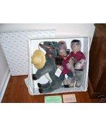 Duck House REUBEN & RUTHIE Porcelain Dolls w/DONKEY NIB - $99.00
