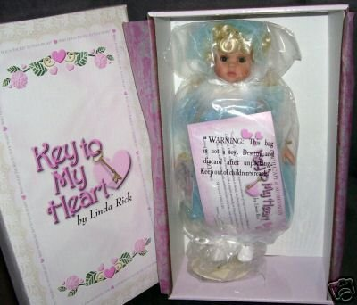 "Doll Maker Key To My Heart SKATING THROUGH LIFE All Vinyl Doll 12"" Doll LE #1000"