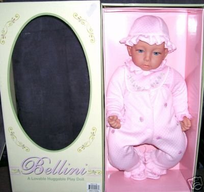 "Bellini * JOINTED * Vinyl Baby Doll NIB 18"" Reborning"