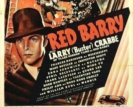 RED BARRY, 13 CHAPTER SERIAL, 1938 - $19.99