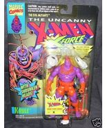 X-MEN MUTANTS KRULE Action Figure w/SHRUNKEN HEADS 1993 - $11.96