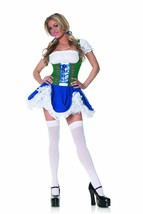 Underwraps Green Gretchen Womens Oktoberfest Halloween Costume Cosplay 2... - $28.08