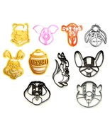Winnie the Pooh Childrens Characters Master Set of 10 Cookie Cutters USA... - $28.99
