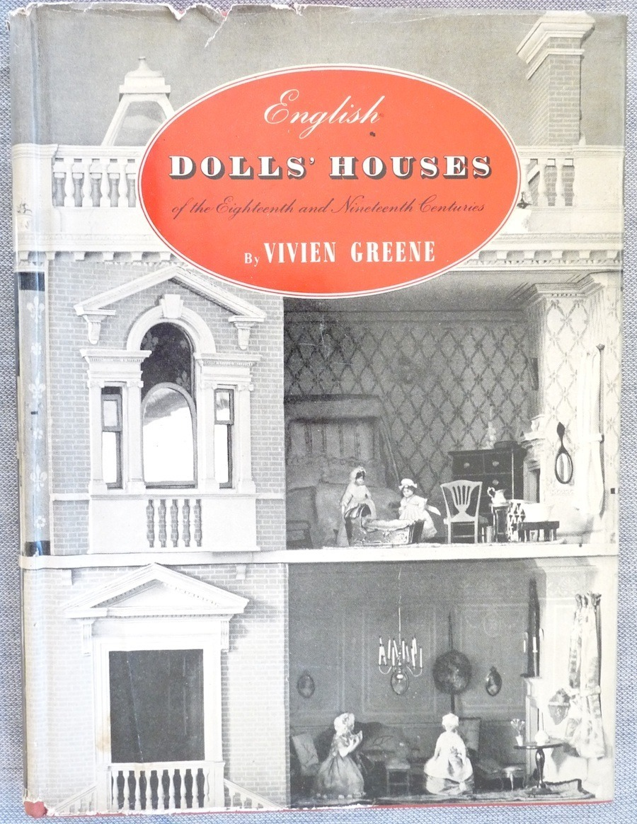 English Dolls Houses 18th 19th Ct Green book 1st edition vintage collecting toys