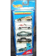 Hot Wheels SHOWROOM SPECIALS 5 Pack Gift Set NEW 1997 - $19.96