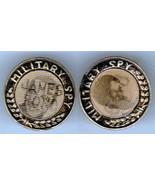 JAMES BOND 007 & 633 SQUADRON GEORGE CHAKIRIS MILITARY SPY FLICKER PIN S... - $12.00