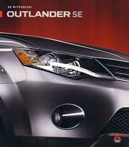 2008 Mitsubishi OUTLANDER SE sales brochure catalog folder US 08 - $6.00