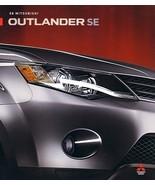 2008 Mitsubishi OUTLANDER SE sales brochure catalog folder US 08 - $6.00