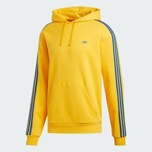 adidas MINI SHMOO Hoodie Men's Fleece Yellow Casual Apparel Tennis NWT EC7326 - $92.61