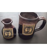 Death Wish Coffee 4th of July Ceramic Mug & Creamer Decanter Set LIMITED... - $197.95