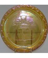 Carnival Glass Liberty Bell Plate - $15.00