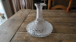 "WATERFORD CRYSTAL ALANA SHIPS DECANTER 7.5"" - $117.81"