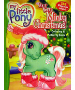"""My Little Pony """"A Very Minty Christmas"""" Coloring & Activity  - $4.69"""