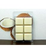 Coconut Breakaway Clamshell PURE SOY Wax Tart Melt - $3.50