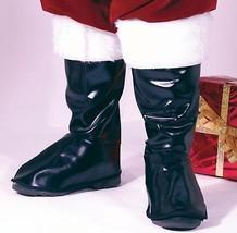 Fun World Fun World  Black Vinyl Santa Boot Top Costume Accessory - Adult Size - $21.77