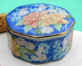Vintage Takahashi San Francisco Octagonal Trinket Box 1980 - $10.95