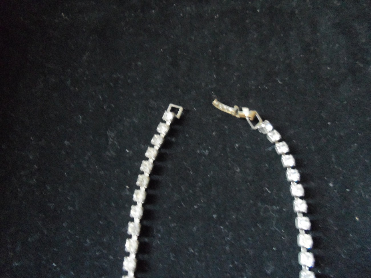 Woman's accessories and handbags - Vintage Rhinestone Jewelry - Necklace