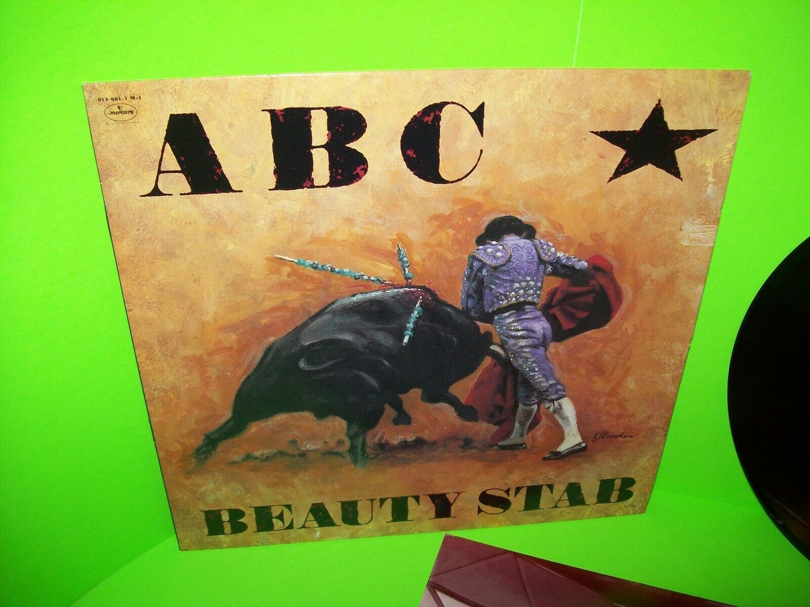 ABC Beauty Stab 1983 Vinyl LP Record Album Synth-Pop Pop Rock New Wave Near Mint
