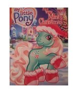 """My Little Pony """"A Very Minty Christmas"""" JUMBO Coloring & Act - $4.69"""