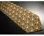 Tie artisphere charles vinson starbursts in brown with white blue accents 01 thumb155 crop