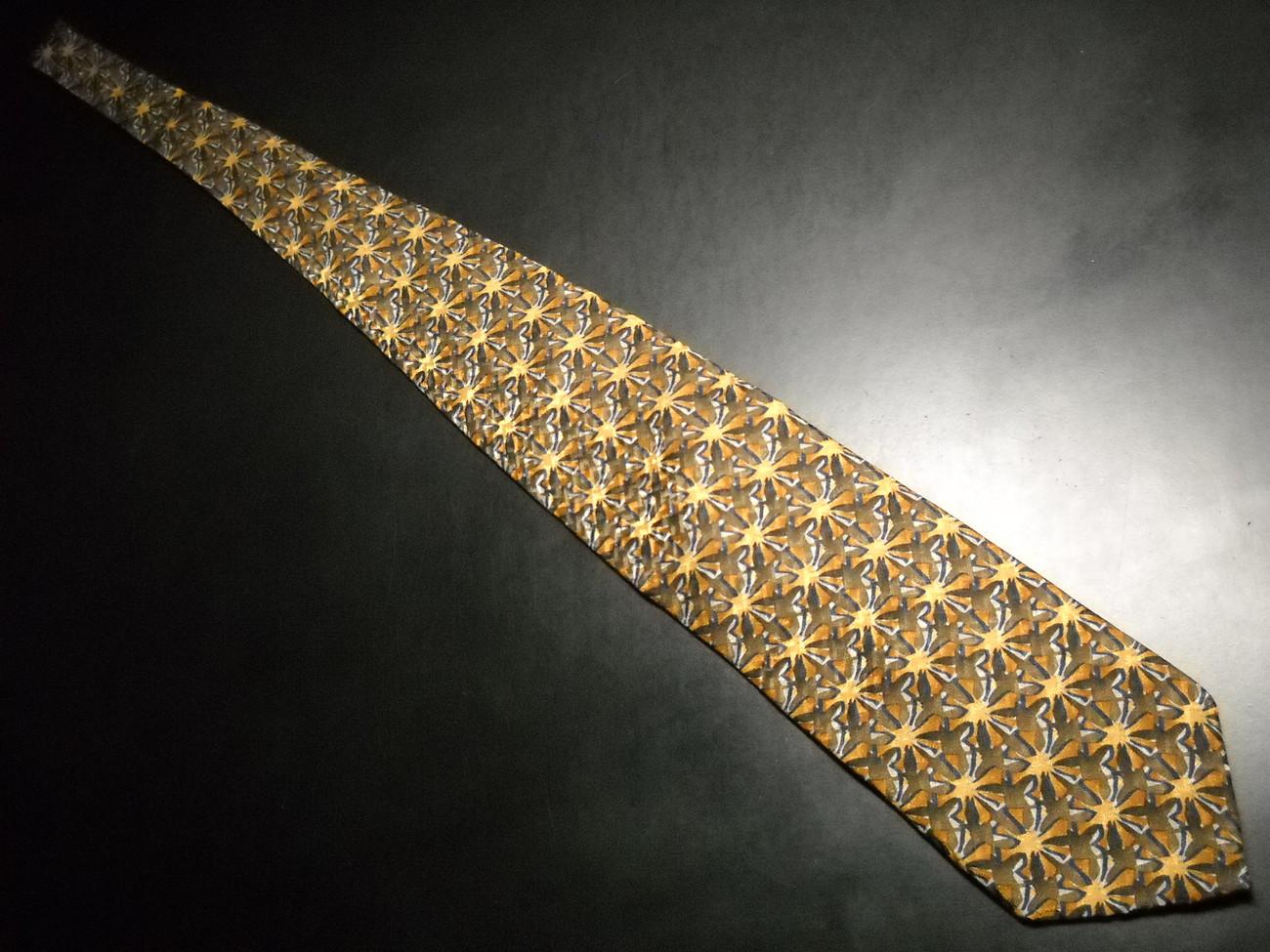 Charles Vinson Artisphere Neck Tie Bursts of Browns Golds