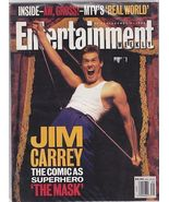 Entertainment Weekly Magazine Jim Carrey The Ma... - $9.99
