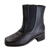 PEERAGE Lottie Women's Wide Width Leather Dress Ankle Boots - $59.95