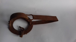 Antique Primitive Hand Forged Iron Trap. - $79.00