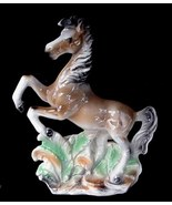 1950's Lane Ca Art Pottery Rearing Stallion Horse Planter - $30.00