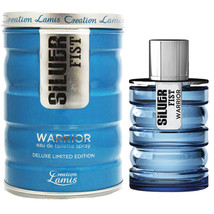 Silver Fist Warrior For Men 3.3 oz EDT Spray by Creation Lamis PRIORITY ... - $8.99