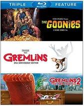 Goonies/Gremlins/Gremlins 2 (Blu-ray Disc, 2013, 3-Disc Set)